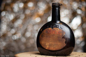 Old Medicine Bottle by AliDee33