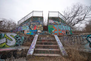Fort Wetherill Graffiti by AliDee33