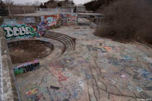 Fort Wetherill Graffiti 2 by AliDee33