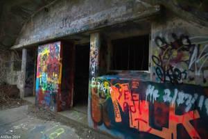Fort Wetherill Graffiti 3 by AliDee33