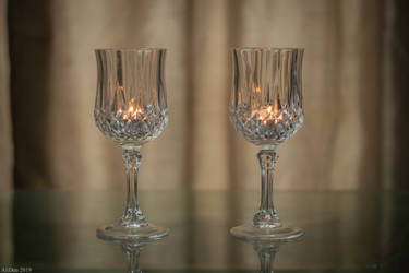 Lead Crystal Stemware by AliDee33