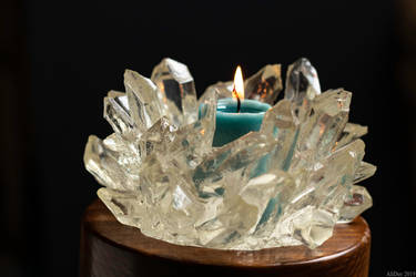 Candlelit Crystals by AliDee33