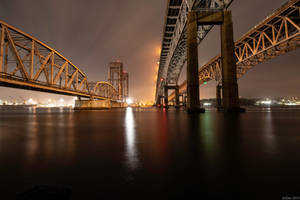 Gold Star Bridges by AliDee33