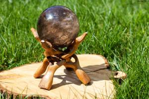 Smokey Quartz Sphere by AliDee33