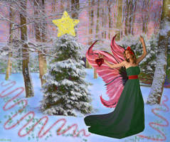 Dancing Around the Christmas Tree by AliDee33