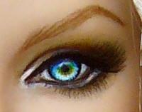 Sirene, eye close-up by DalilaDolls