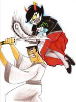 Samurai Jack vs. Kanaya