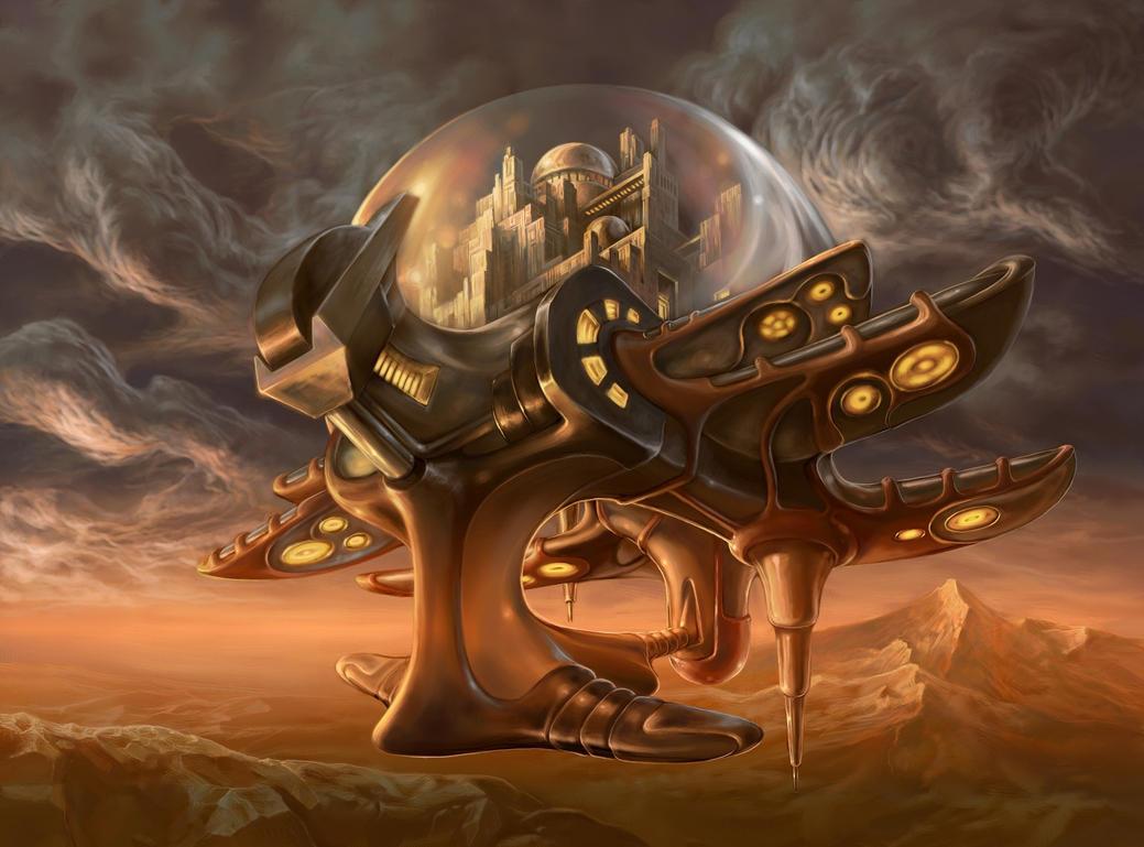 Flying Fortress by TomaszMrozinski