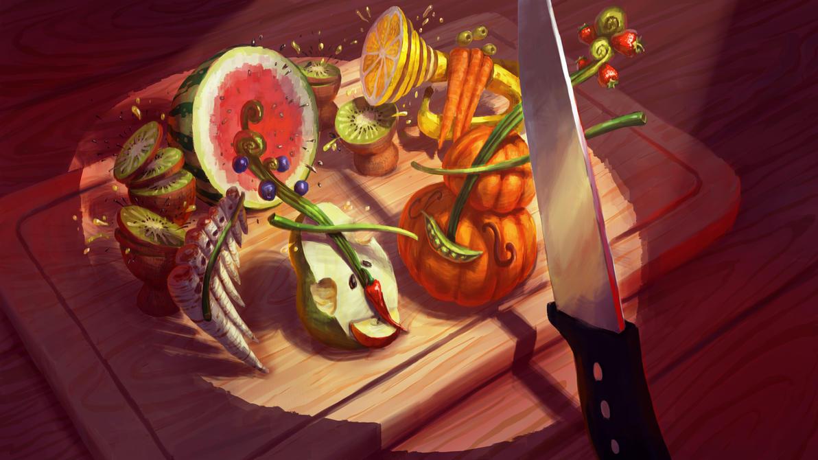 Fruigetable Orchestra by TomaszMrozinski