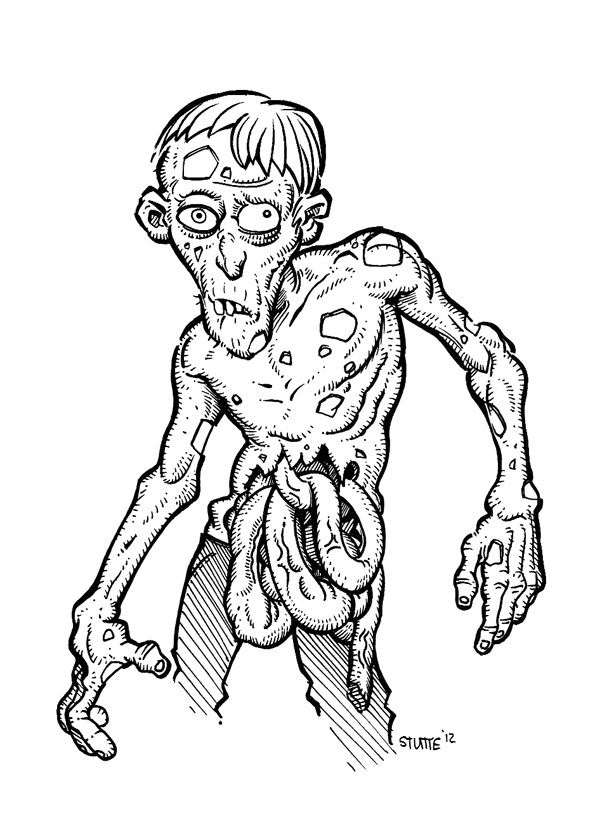 Dibujos Halloween additionally Wesley Drawing Pages further Cartoon Zombie 293054959 also Dragon In Flight likewise Ben 10 Coloring Page 04. on scary cartoon monster drawing