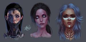 Female Face Practice 3