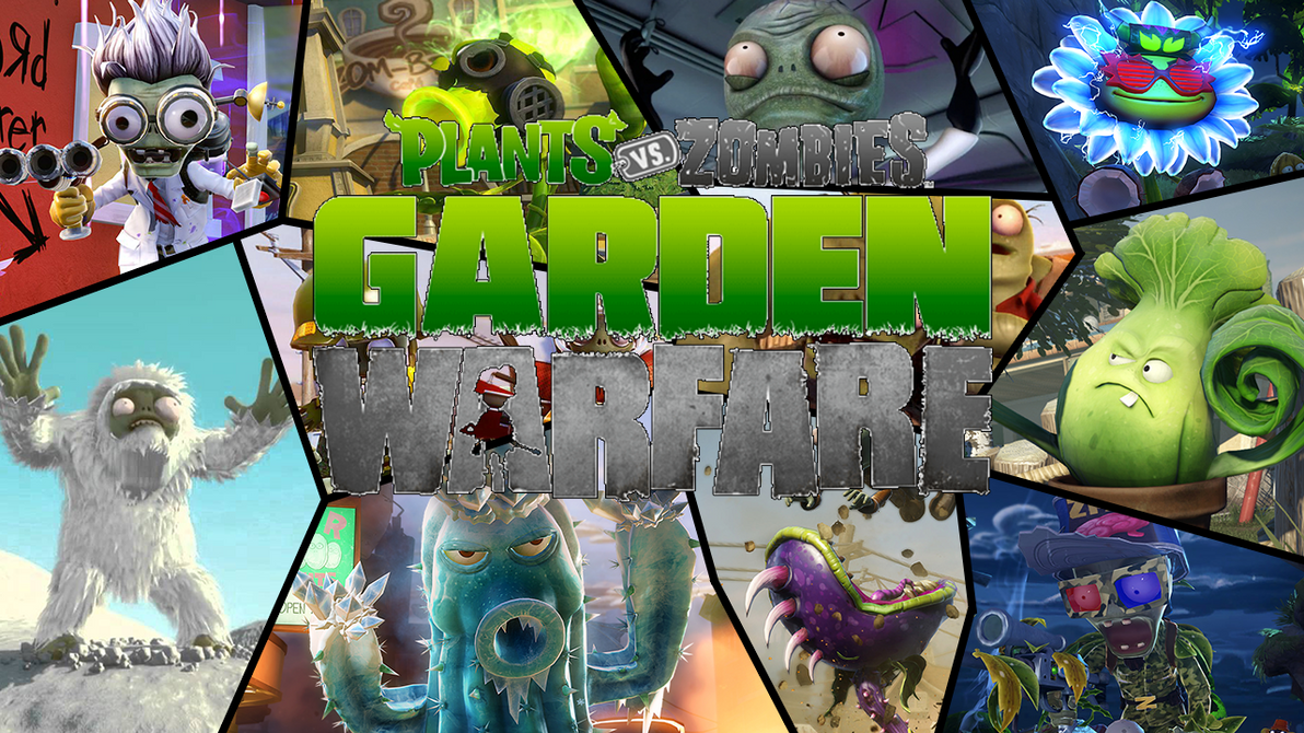 plants vs. zombies garden warfare wallpapermason1204 on deviantart