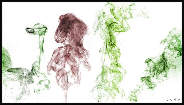 Colored smoke #1