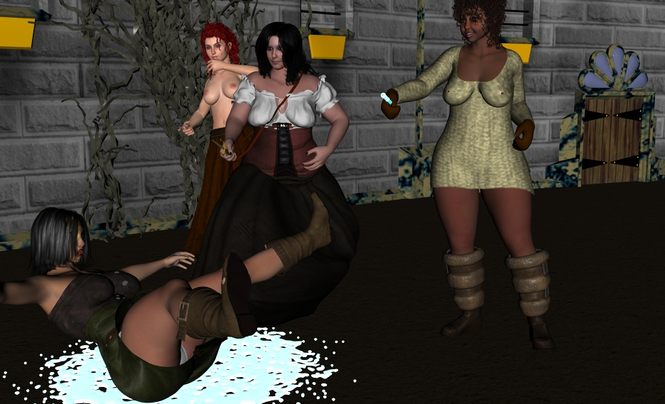 Adventure: Trouble at the Arena! - Page 3 Stepping_slightly_to_the_side_to_try_to_avoid_any_by_myds6-d7v73v8