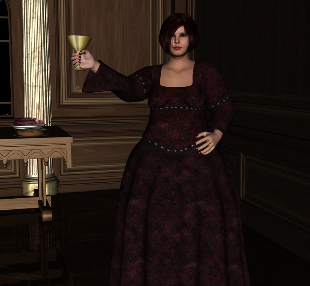 Adventure: The Sylvan Crown - Page 2 Lady_chorinna_offers_a_toast__by_myds6-d81np40