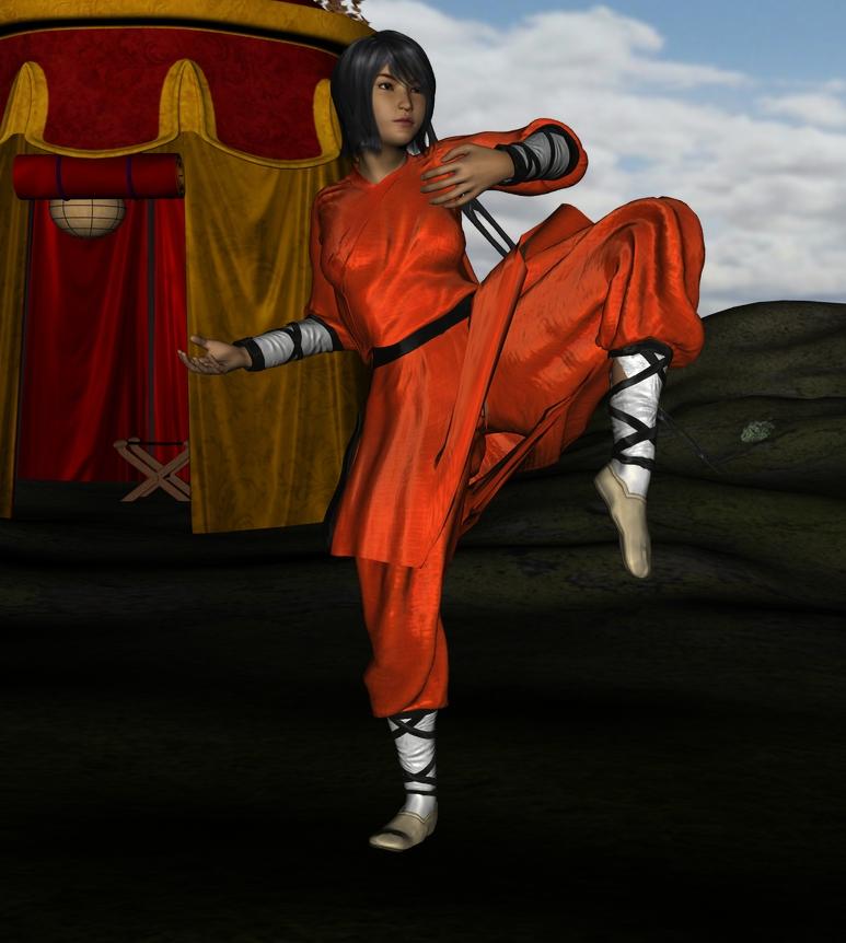 Li Mae, the Traveling Monk  Li_mae_02_by_myds6-d9x4gcj