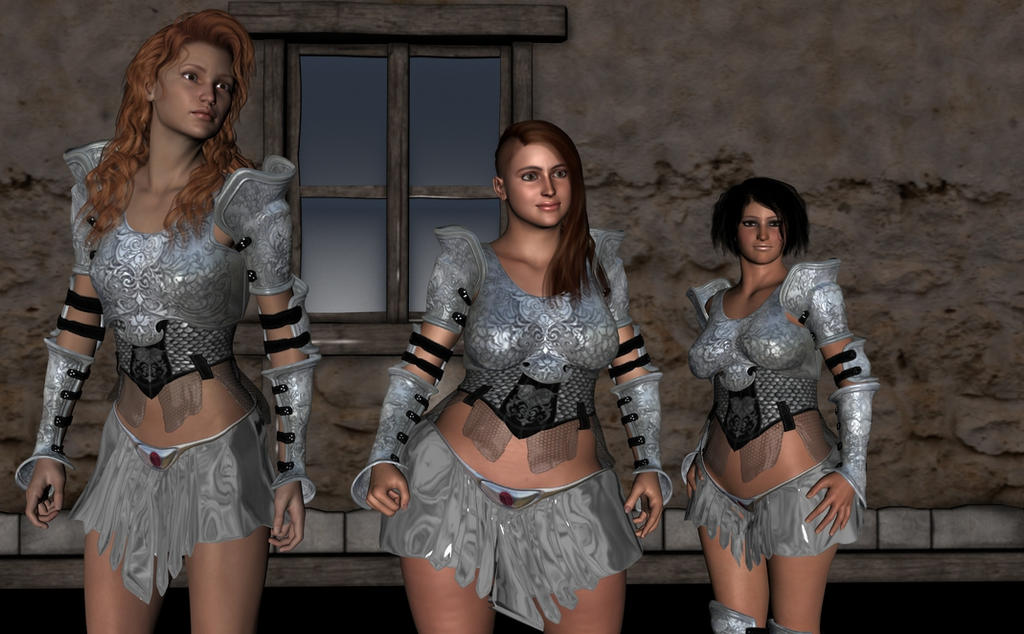 The rest of Cléodine in the tavern. Cleotav003_by_myds6-da960l6