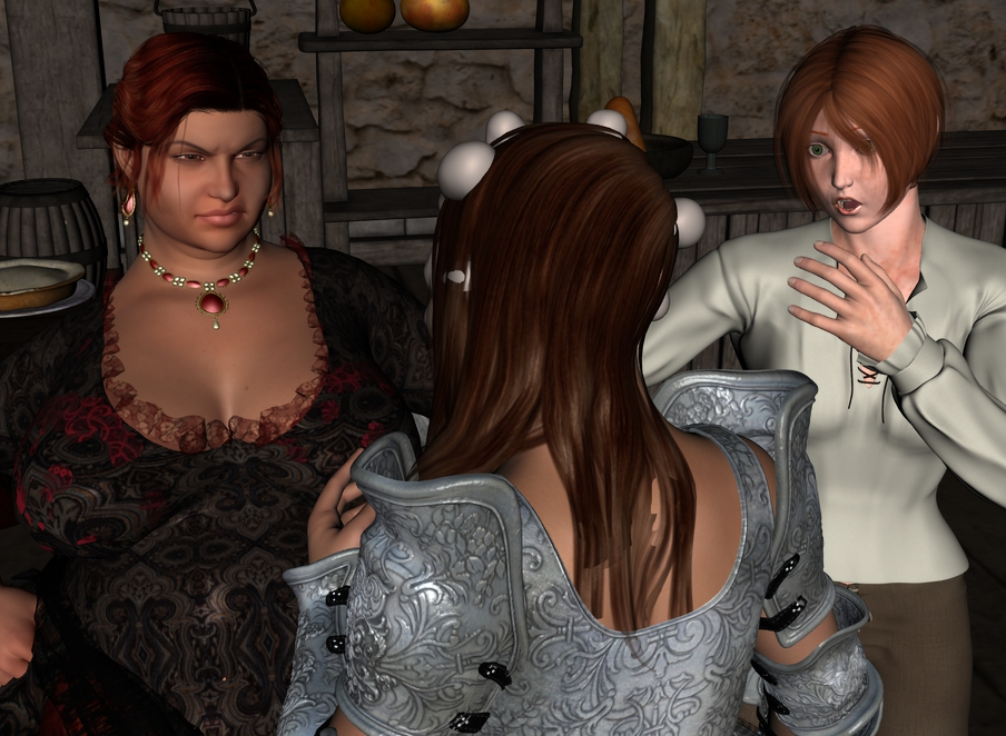 The rest of Cléodine in the tavern. Cleotav008_by_myds6-da9drgn