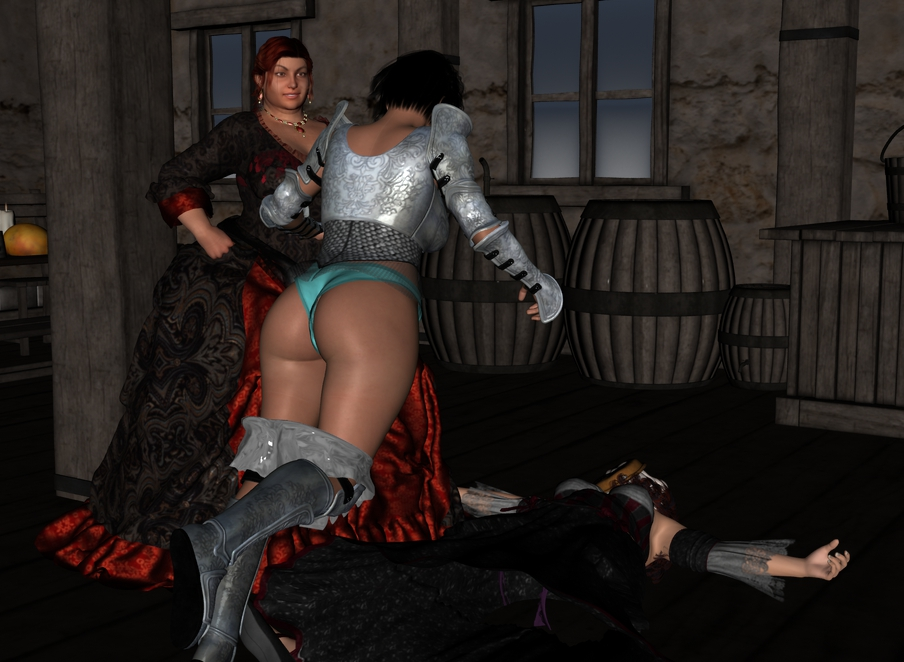 The rest of Cléodine in the tavern. Cleotav016_by_myds6-da9ebct