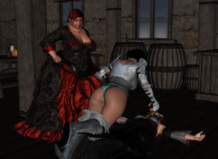 The rest of Cléodine in the tavern. Cleotav017_by_myds6-da9ebft