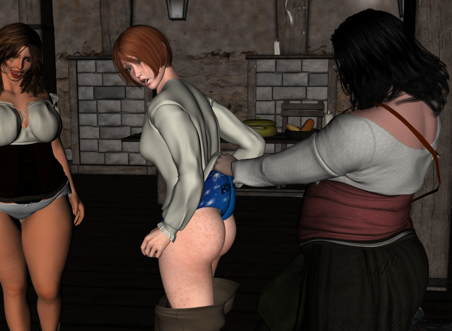 The rest of Cléodine in the tavern. Cleotav023_by_myds6-dab4hhf