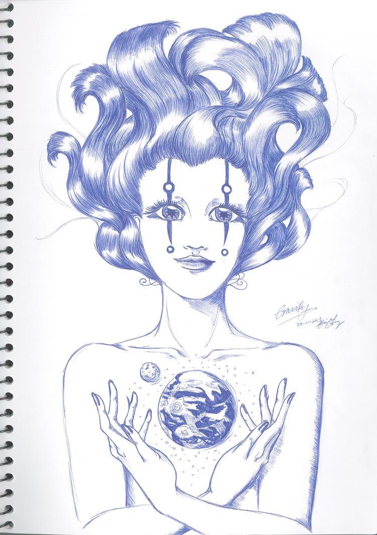 Gravity (2013) by CeruleanHeavens