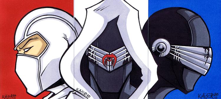 Sketch Card of G I Joe Ninjas by tillman54 on DeviantArt