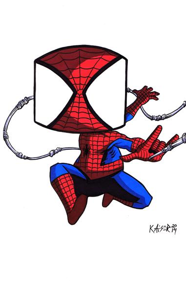 Spidey-web by tillman54