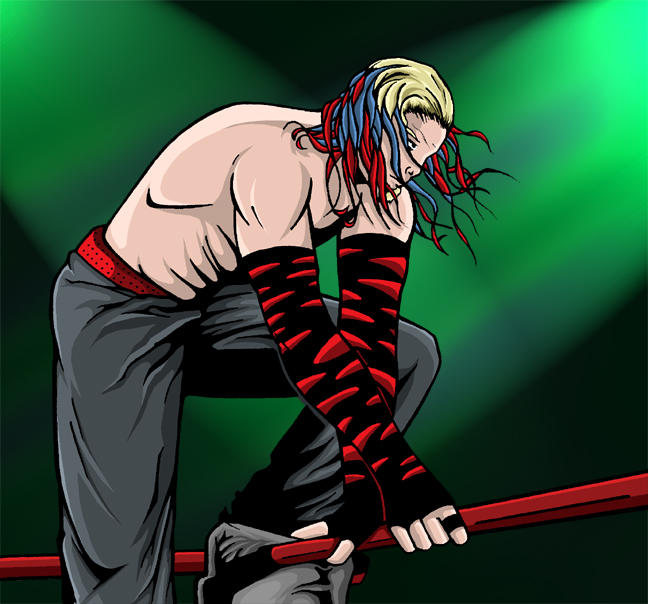 Jeff Hardy Colored By Tillman54 On Deviantart Jeff Hardy Color Drawing
