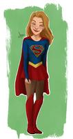 Cute Supergirl