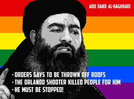 Al Baghdadi Orders Gays Thrown Off Roofs by CaciqueCaribe