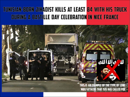 Tunisian Jihadist Uses Truck To Massacre In France by CaciqueCaribe
