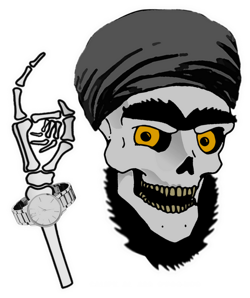 Dead Caliph Al Bag O'Doo-Doo Caricature by CaciqueCaribe ...