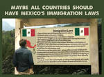 All Countries Should Have Mexico Immigration Laws