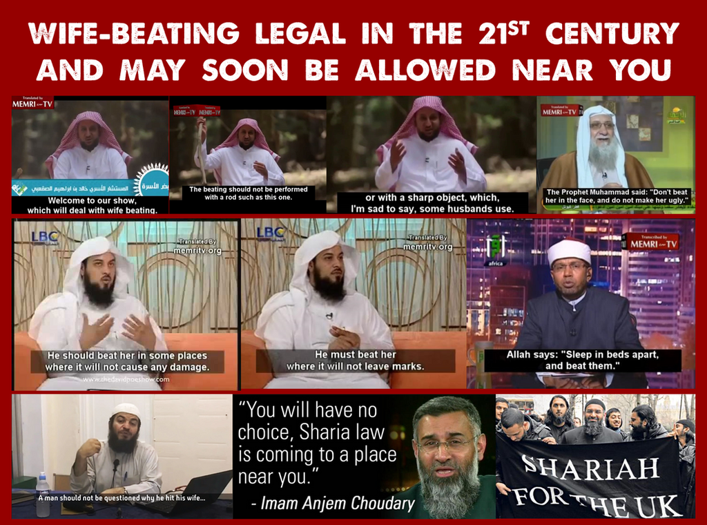 Wife-Beating Legal In 21st Century, Soon Near You by ...
