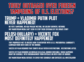 Outraged Over Foreign Tampering Of US Elections? by CaciqueCaribe