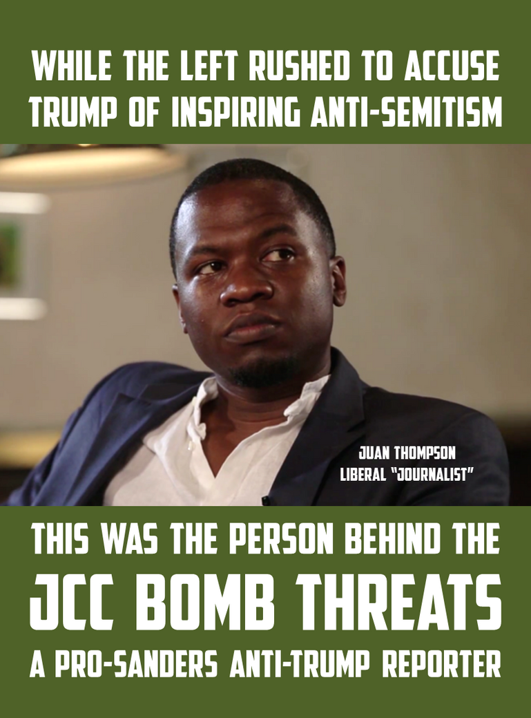 Reporter Behind JCC Bomb Threats by CaciqueCaribe