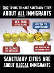 Sanctuary Cities Are About ILLEGALS Not Immigrants