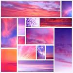 Pink sky by Sintija