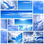 Blue sky by Sintija