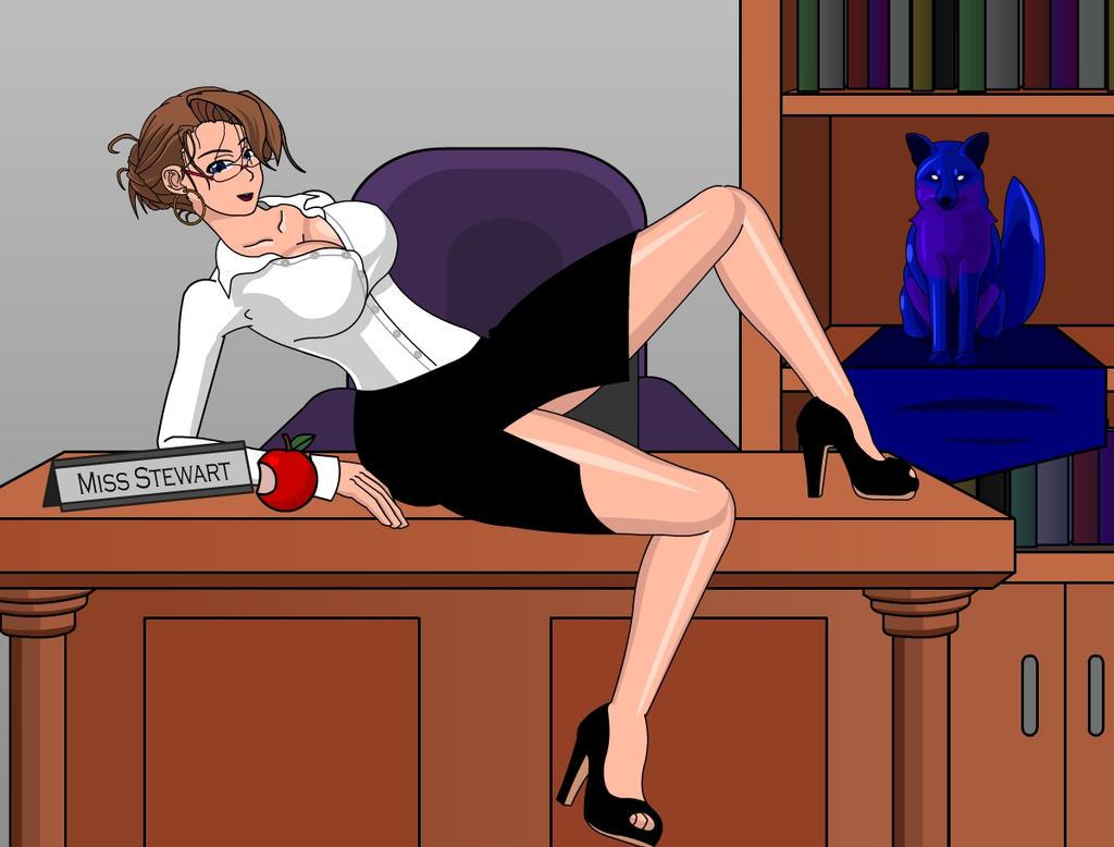 Miss Stewart by SapphireFoxx