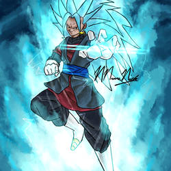 Super Saiyan Blue 3 Vegito by NNameNick