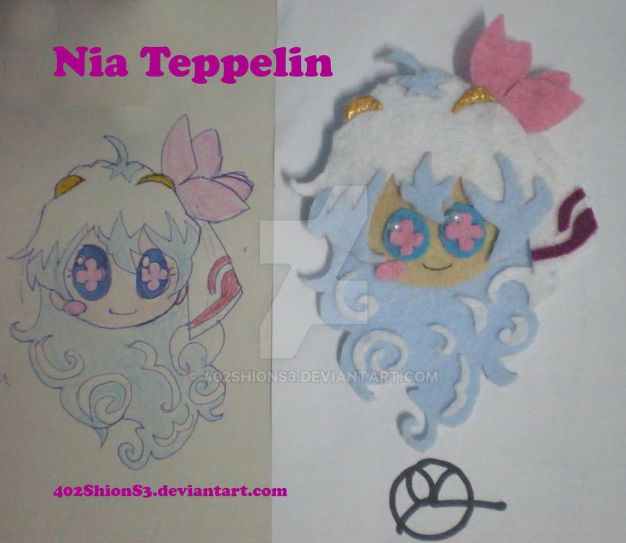 Nia Teppelin Brooch by 402ShionS3