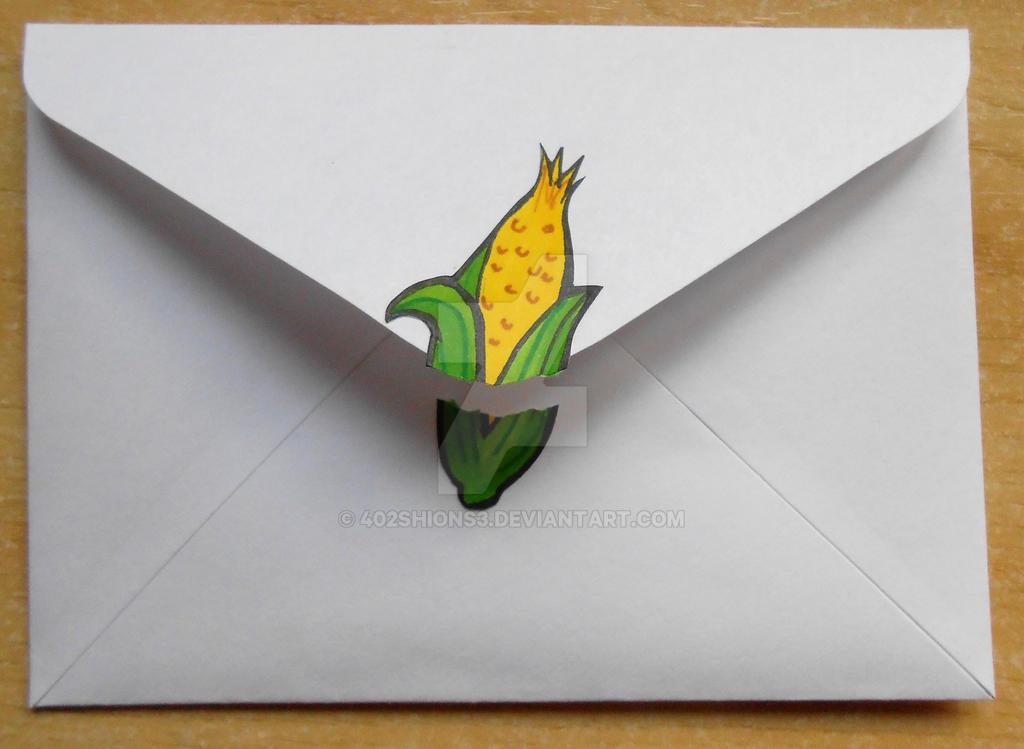 Touch Detective The Cornstalker Envelope by 402ShionS3