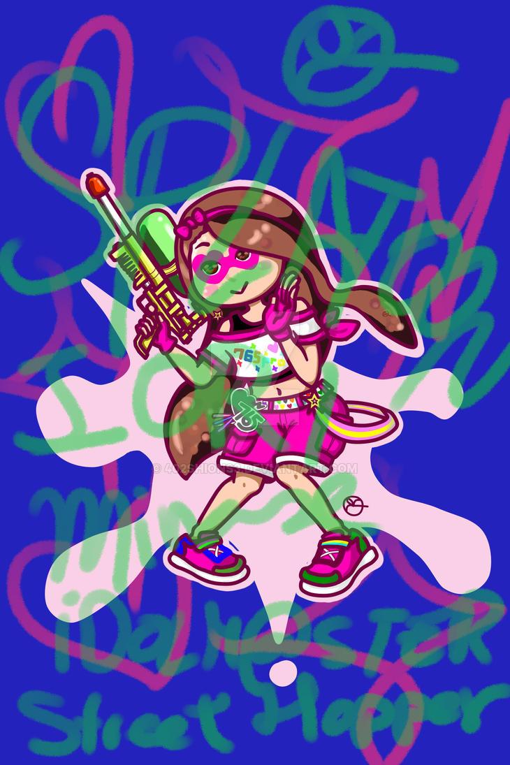 Iori Minase Water-gun by 402ShionS3