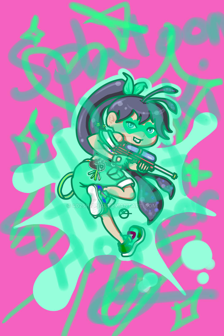 Hibiki WaterGun by 402ShionS3