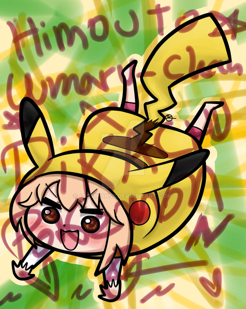 Umaru x Pikachu by 402ShionS3