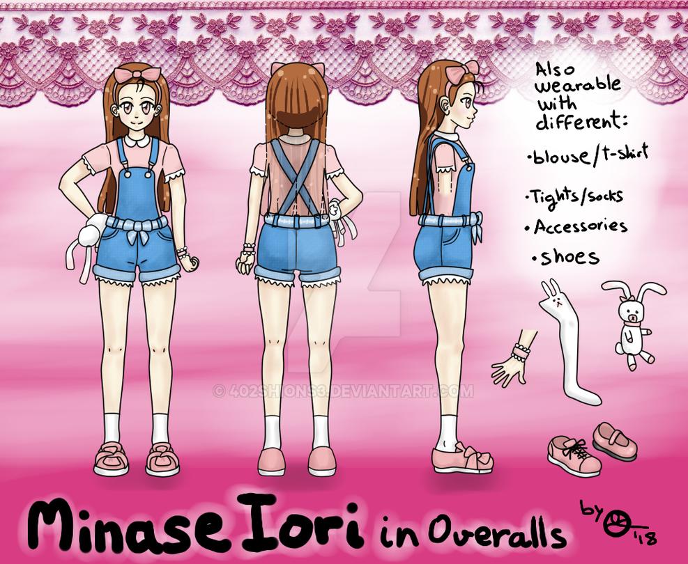 Minase Iori in Overalls (READ the description) by 402ShionS3