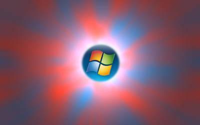 Red Blue Aurora Vista