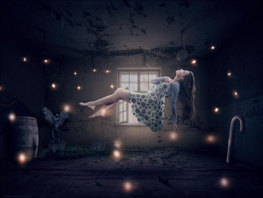 levitating girl wallpaper - photo #8